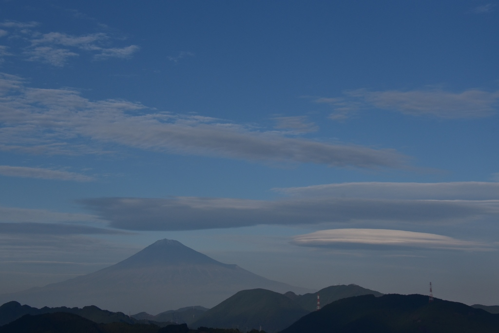 富士山11月3
